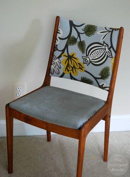Uldum Mobelfabrik Chair From Denmark Reupholstering Danish Modern Frames I Like The Two Different Fabrics