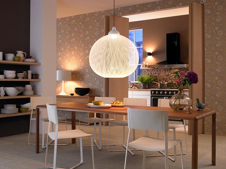 beleuchtung - leuchten überm esstisch: glänzend: esstischleuchte, Esstisch ideennn