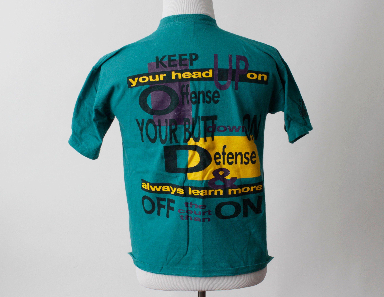 d8011095e4885f Vintage T Shirt TShirt Reebok Above the Rim Basketball Tee - 90s ...