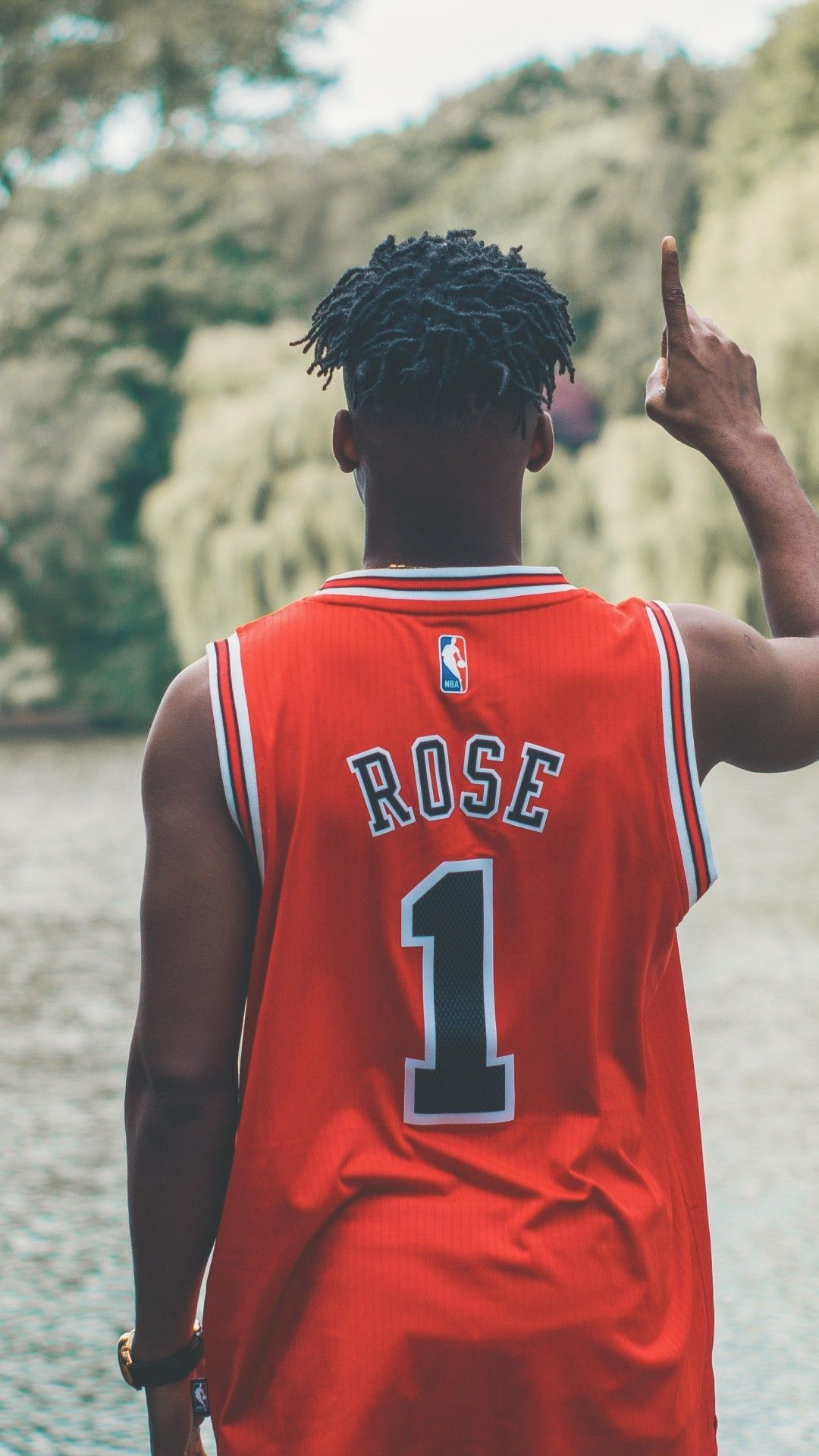 Derrick Rose Wallpaper Android Download in 2020 Rose