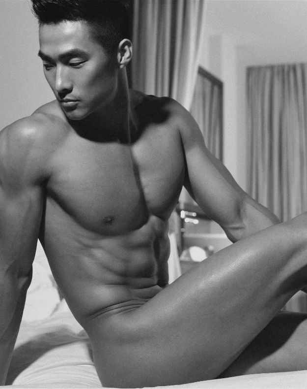 Chinese male model nude-9050