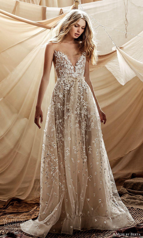 Muse By Berta Spring 2021 Wedding Dresses Wedding Inspirasi Berta Wedding Dress Summer Wedding Dress Wedding Dress Inspiration [ 1500 x 900 Pixel ]