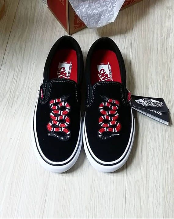 a6f62adc10 Authentic Suede Slip On Vans -Comes in original vans box -Custom Vans shoes
