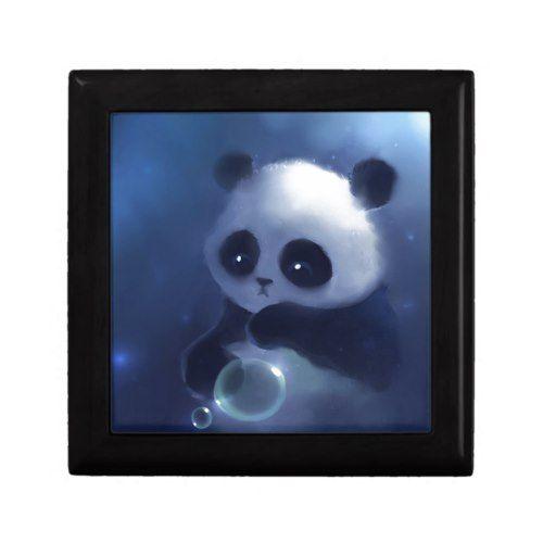 Baby Panda Bear Keepsake Box | Zazzle.com #babypandabears