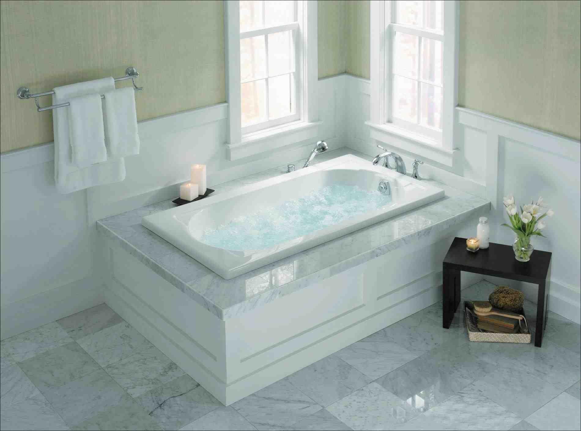 This garden tub with jets - stunning garden tub decorating ideas ...
