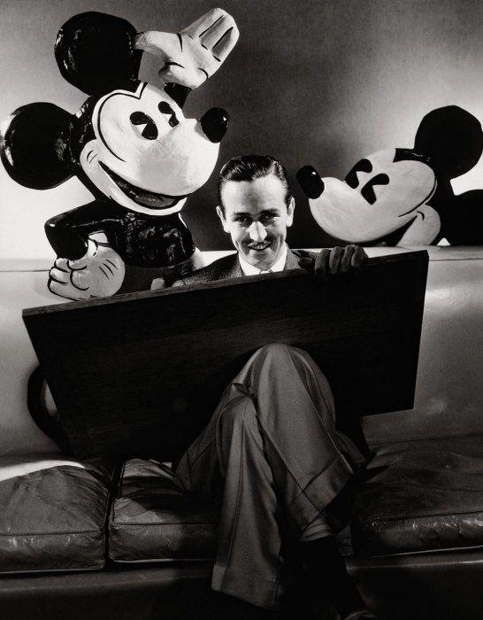 Walt Disney, Photos: Edward Steichen's Iconic Portraiture   Vanity Fair #Disney #Walt #Mickey #Mouse #1933 #comics