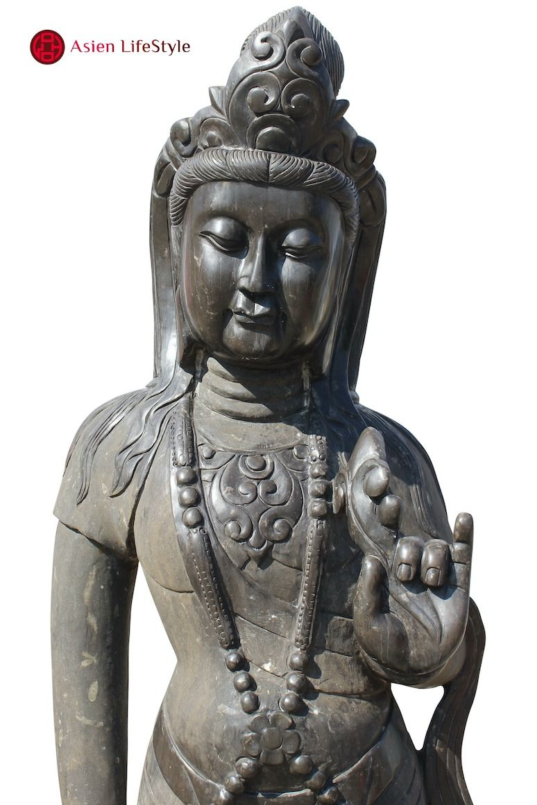 Garten Buddha Statue Kwan Yin Asiatische Figur Buddha Figur Statue Buddha