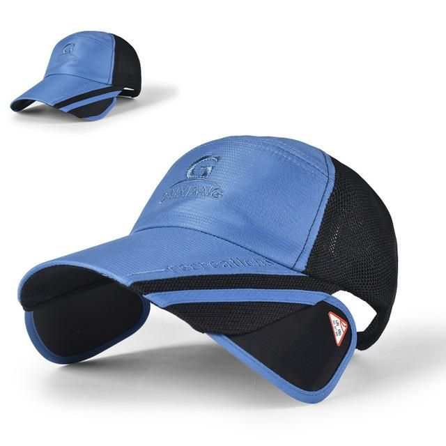 73a7c06ab70 ADJUSTABLE FISHING CAPS SPORTS MEN S FISHING HATS CLIMBING HUNTING SUNSHADE  CAPS M05