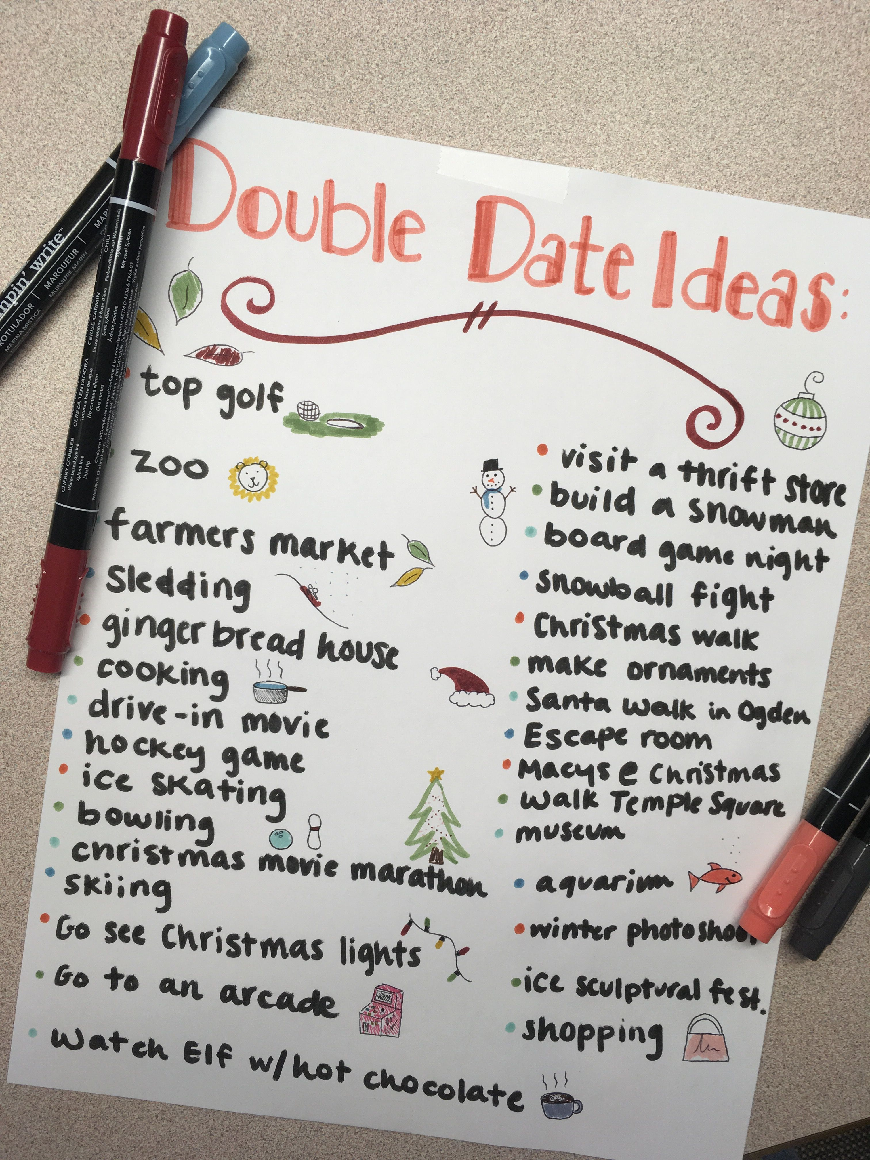 Double date ideas for fall/winter | Date Ideas | Pinterest | Fall ...