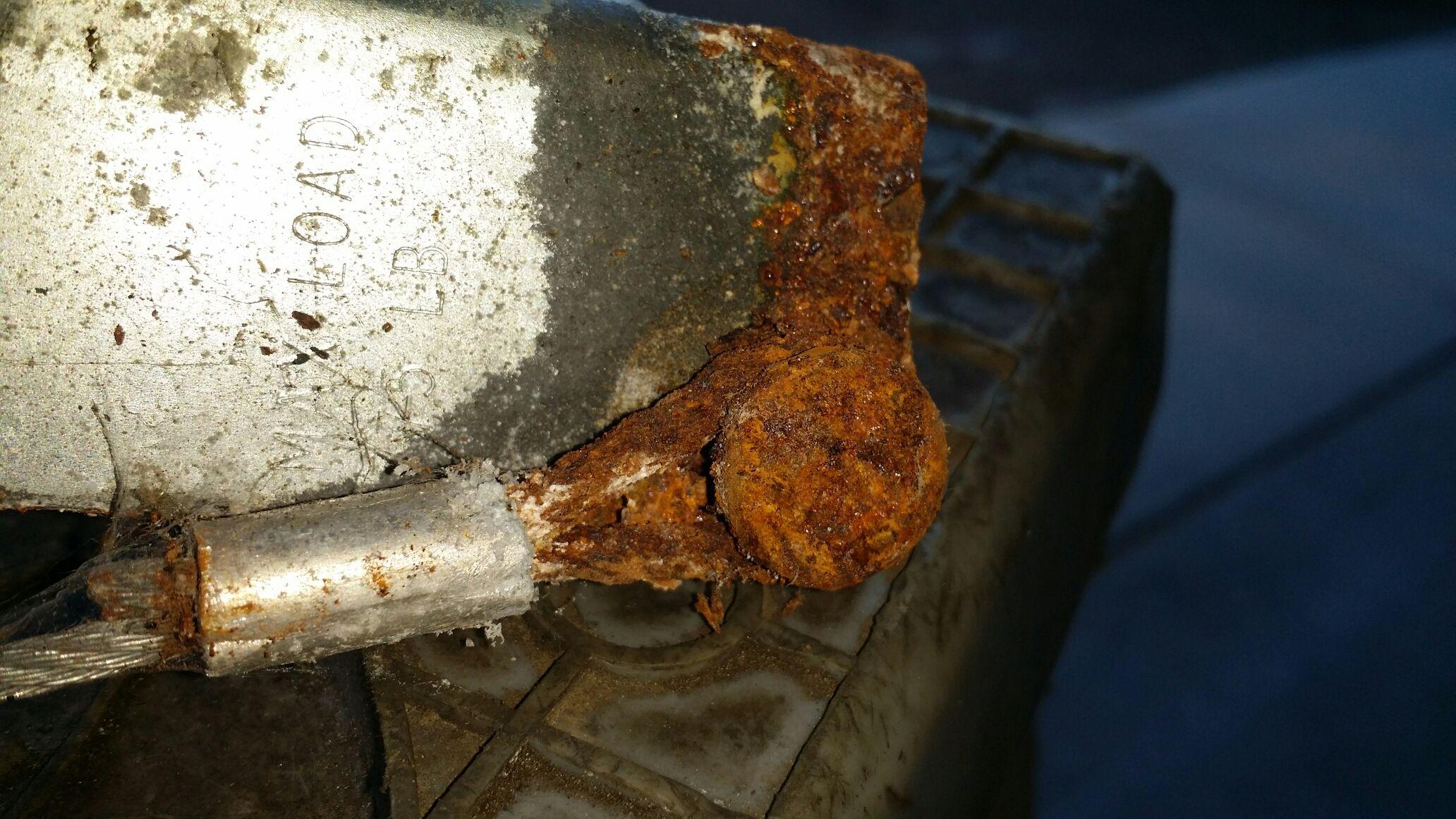 Replace Rusty Cables On Garage Door Blaine Mn Garage Door Repair