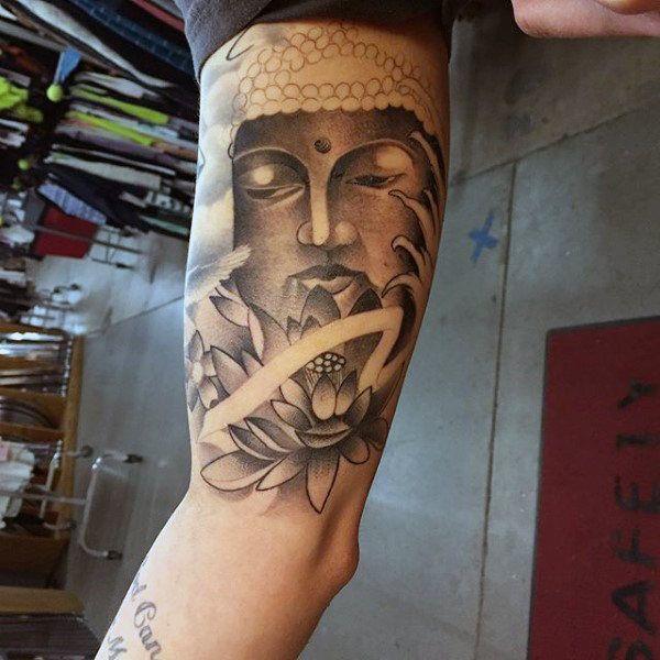 100 Buddhist Tattoos For Men Buddhism Design Ideas Body