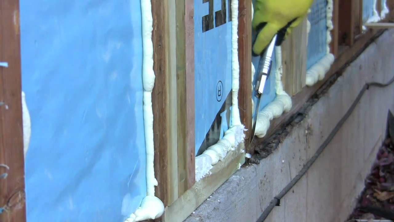 Diy Spray Foam Insulation Poor Man S Spray Foam Diy Spray Foam Insulation Diy Room Spray Diy Insulation
