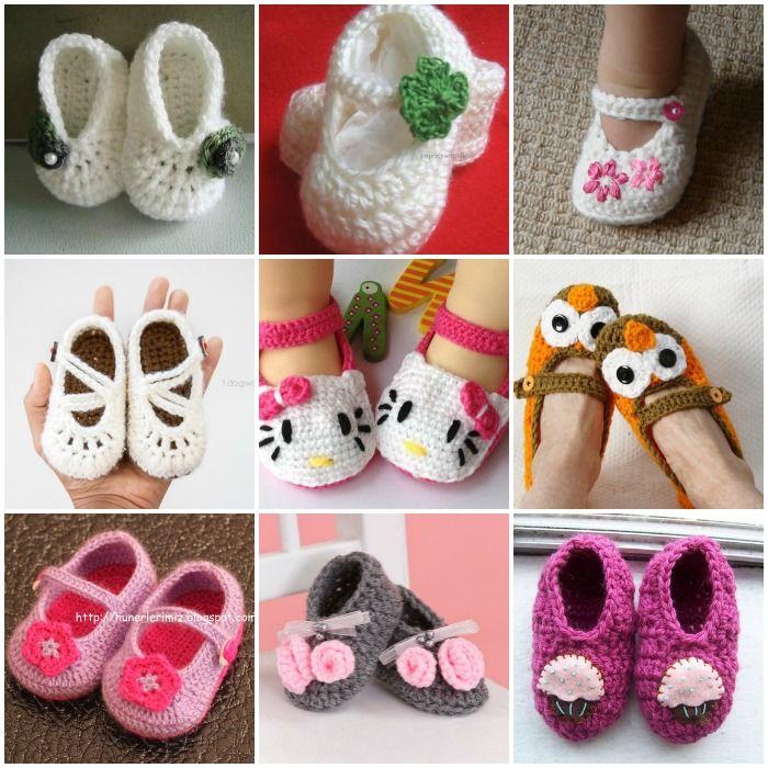 Wonderful DIY Cute Knitted / Crochet Baby Animal Booties   Pinterest ...