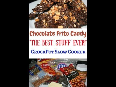 A Year of Slow Cooking: CrockPot Chocolate Frito Candy Recipe