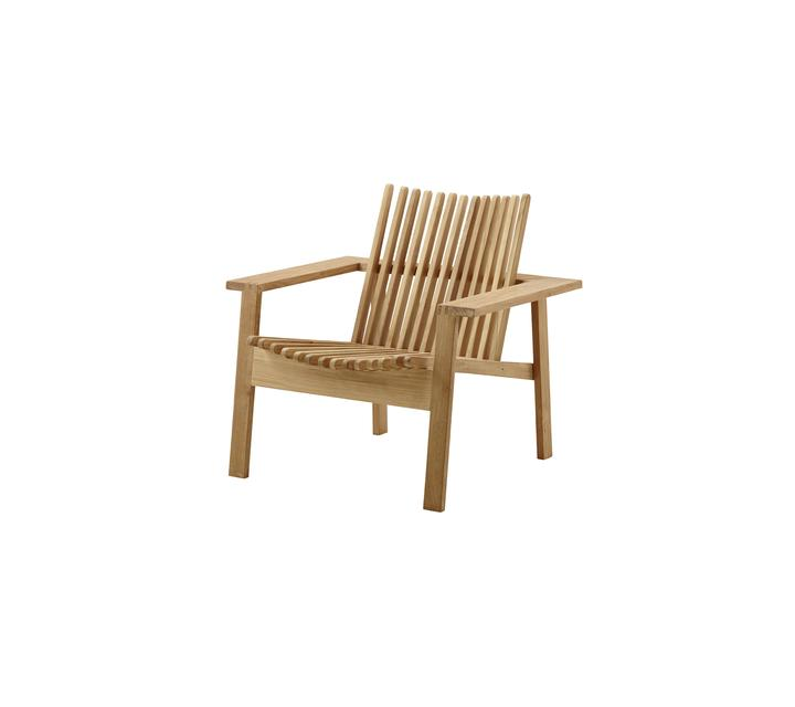 Cane Line Amaze Lounge Chair Stackable See Selection Cane Line Com Teak Lounge Chair Lounge Chair Outdoor Teak Outdoor Furniture