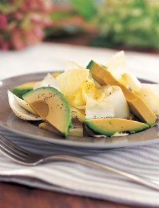 barefoot contessa - recipes - endive and avocado salad   foods i
