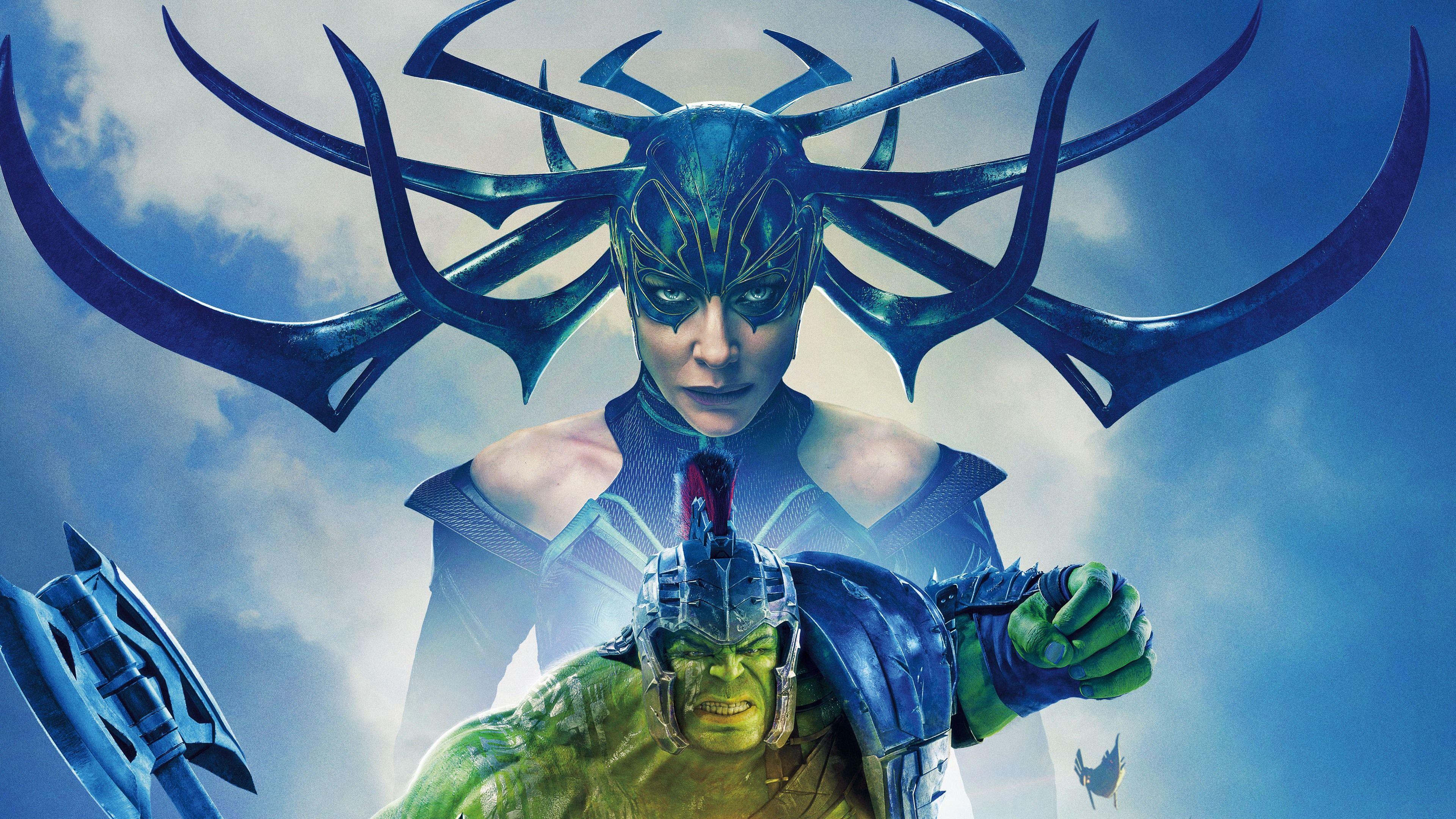 Uhd 4k Thor Ragnarok Cate Blanchette Hela And Mark Ruffalo