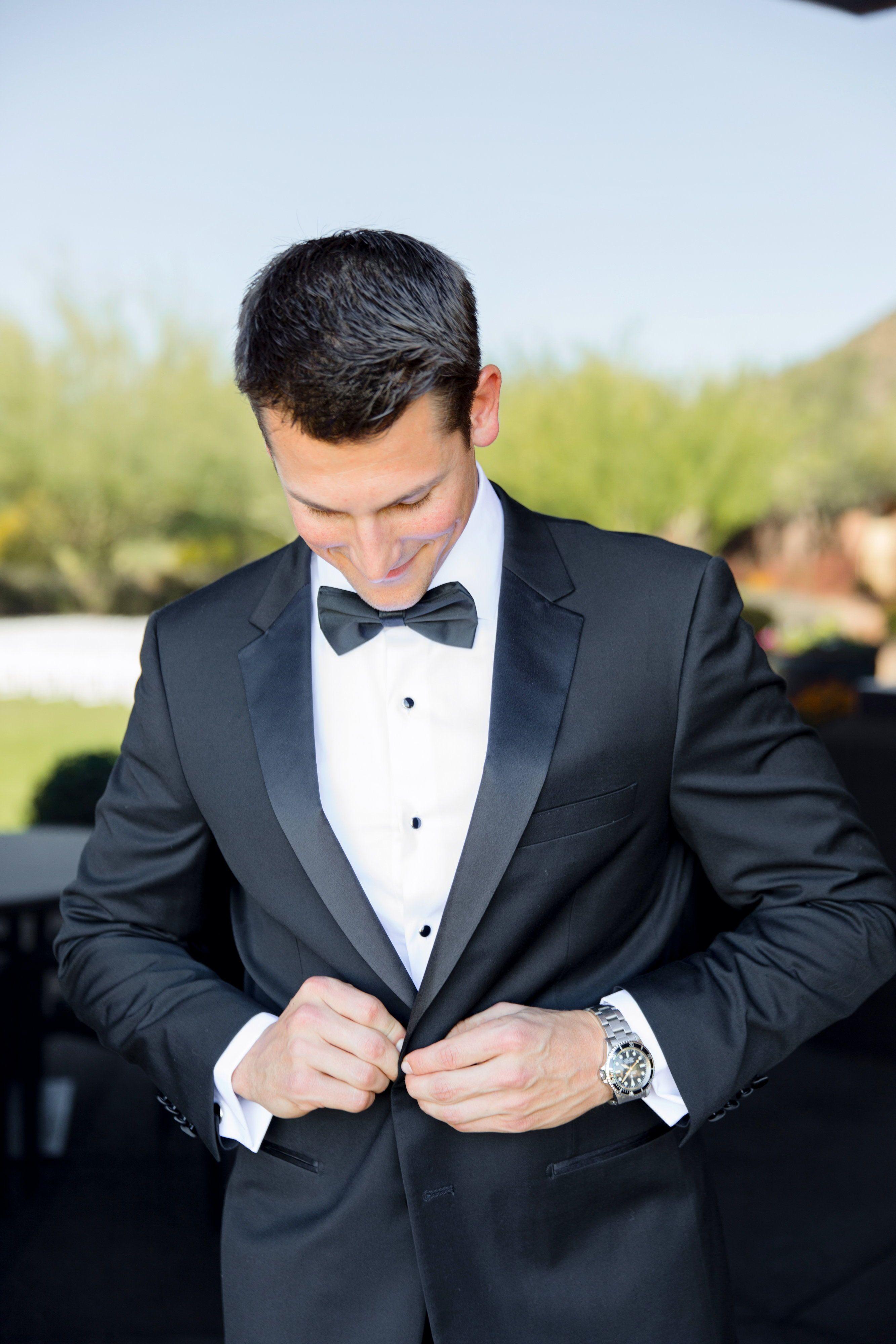 Notch Lapel Tuxedo Groom Suit Black Tuxedo Jacket Black Suit Wedding [ 4000 x 2666 Pixel ]