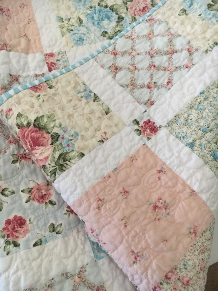 Most Beautiful Quilt ever1 Salvabrani | Edredones shabby