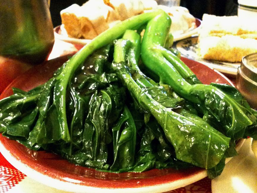 Nom Wah Tea Parlor Chinese Broccoli With Images Nom Nom A Food Food Blog