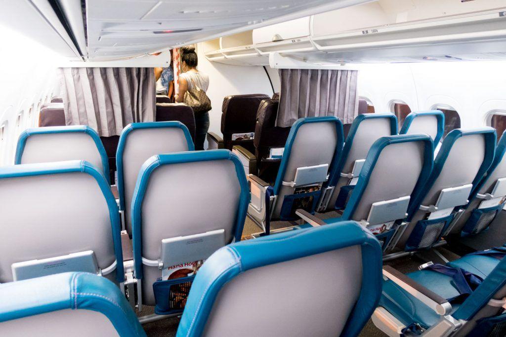 Hawaiian Airlines Fleet Boeing 717 200 Details And Pictures Airlinesfleet Com Hawaiian Airlines Airline Interiors Cabin Interior