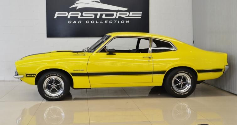 Ford Maverick Gt 302 Yellow Cars Ford Maverick Old Sports