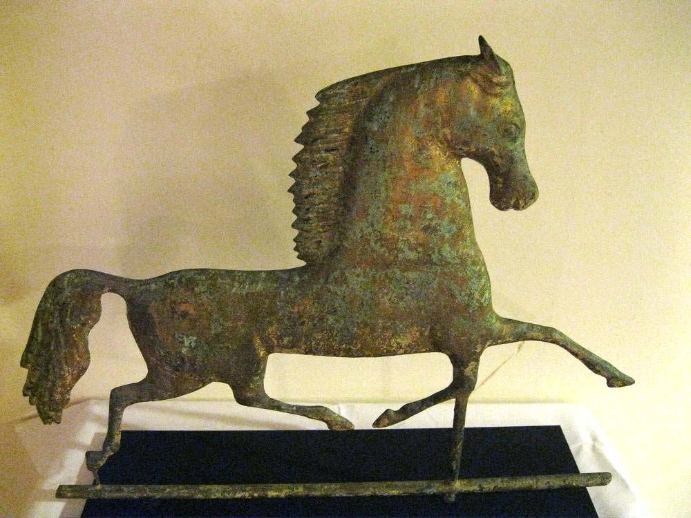 Horse Weathervane American Folk Art Primitive Folk Art Folk Art