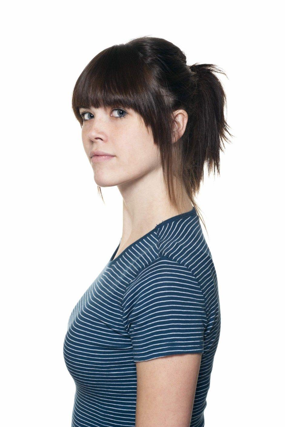Emo fringe canadian girlhow to cut micro bangs beauty