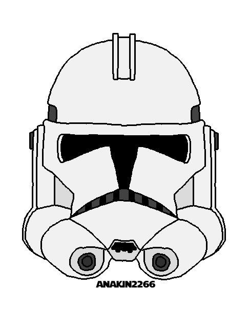 scout trooper helmet drawing - Google Search | Star wars | Pinterest