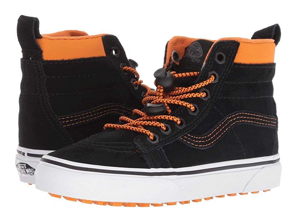 344e94e63d Vans Kids SK8-Hi MTE (Little Kid Big Kid) ((MTE) Toggle Orange Black) Boys  Shoes. The Vans Kids SK8-Hi MTE is weather-approved for the elements with  its ...
