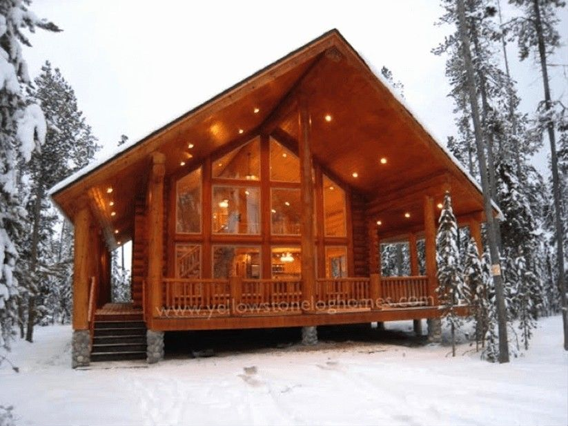 16 Beautiful 1 Bedroom Log Cabin Floor Plans 1 Bedroom Log Cabin Floor Plans New Tiny House Floor Plans Cabin Style Homes Prefab Log Cabins Cabins And Cottages