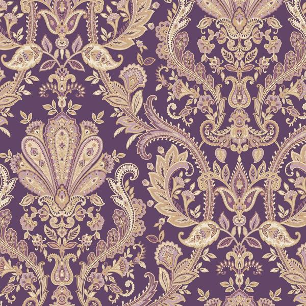 Norwall Distressed Paisley Vinyl Roll Wallpaper Covers 55 Sq Ft Fh37549 The Home Depot In 2021 Paisley Wallpaper Medallion Wallpaper Norwall