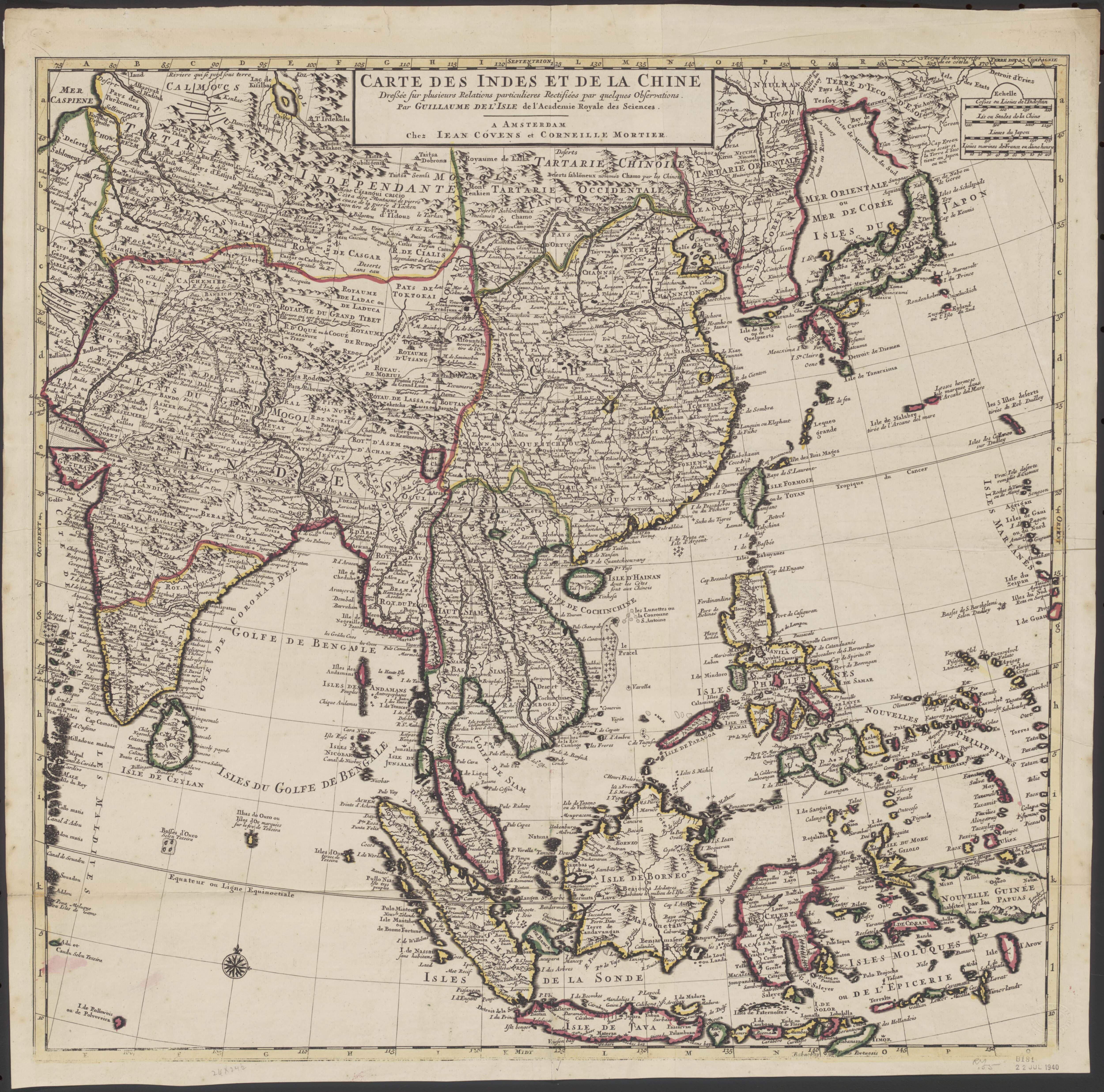 1730 map of india china thailand indonesia and the philippines 1730 map of india china thailand indonesia and the philippines gumiabroncs Images