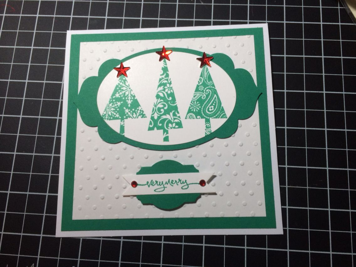 Very Merry Stampin up