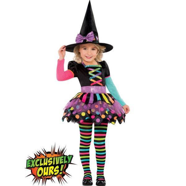 Toddler Girls Miss Matched Witch Costume | All About Jaylynn ...