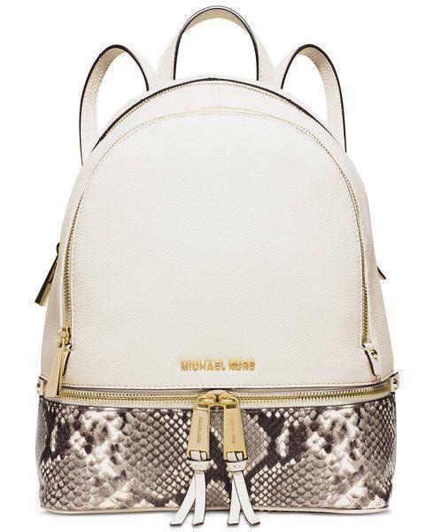 MICHAEL Michael Kors Women s Small Rhea Backpack Michael Kors Outlet 4f84838f83