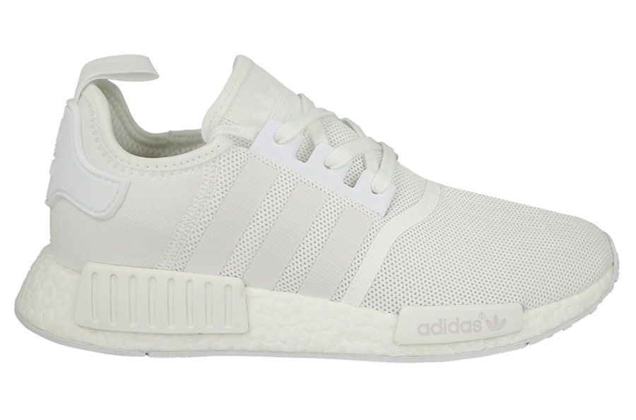 bea9be120bb0e Adidas NMD R1 Triple White BA7245  adidas  AthleticSneakers