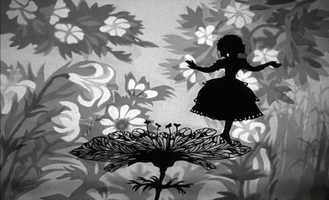 Thumbelina (1954) | Lotte reiniger, Art projects, Paper art