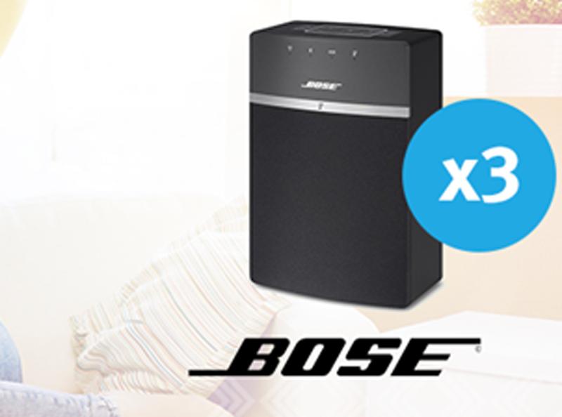 Gewinne 10 Lautsprecher von Bose | Wettbewerbe Schweiz gewinnen | Bose
