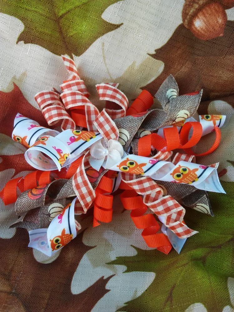 ab9de96376d1eb Hair bow Handmade Barrette 6