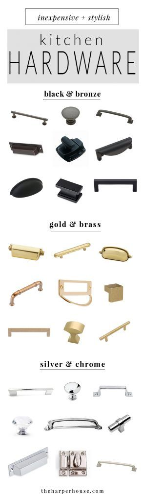 Beau Where To Buy Affordable Kitchen Hardware Knobs And Pulls, Farmhouse Style  Kitchen Cabinet Hardware For Cheap, Cheap Black, Chrome And Brass Cabinet  Pulls ...