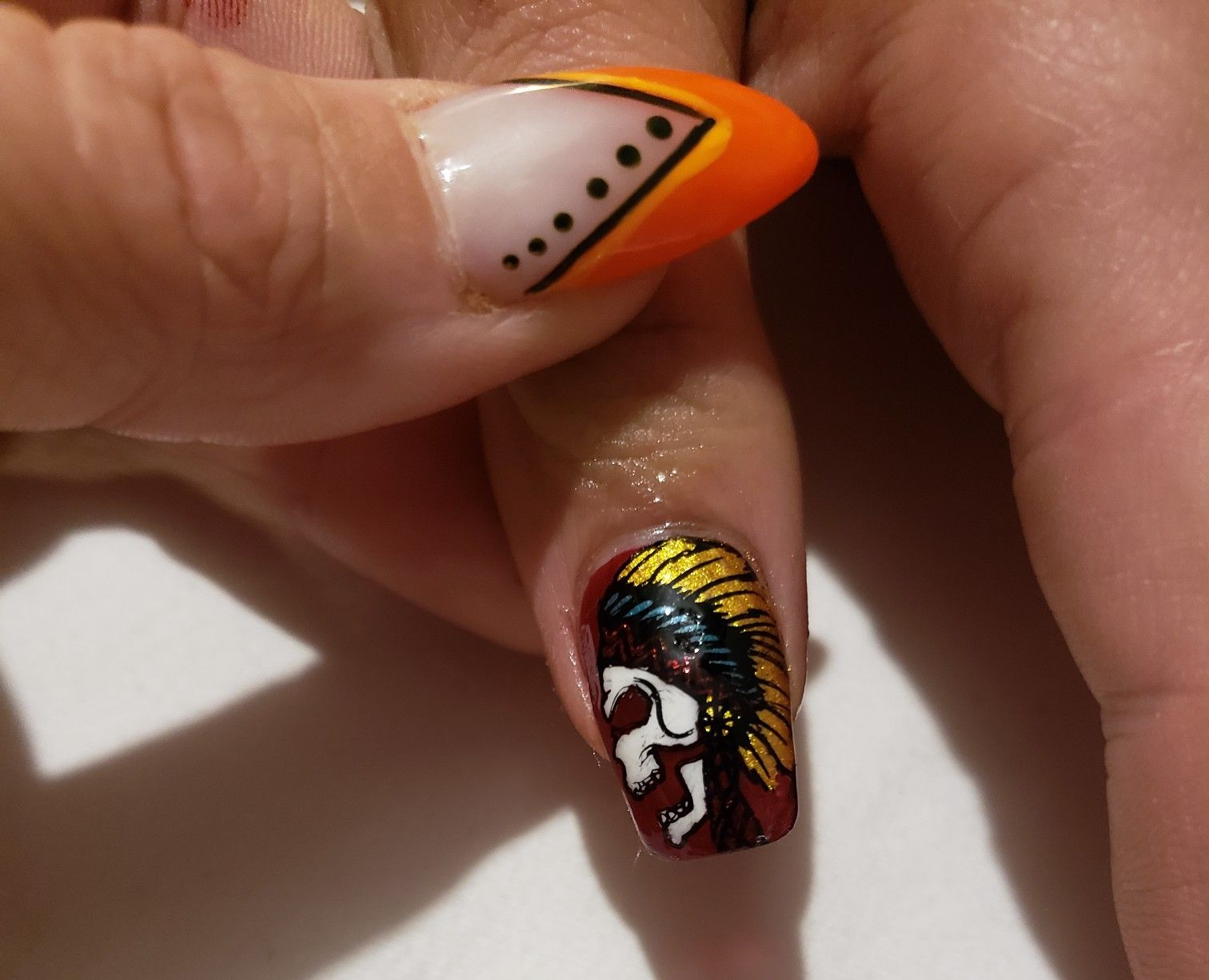 Some awesome Halloween nails I done!! | Halloween nails ...