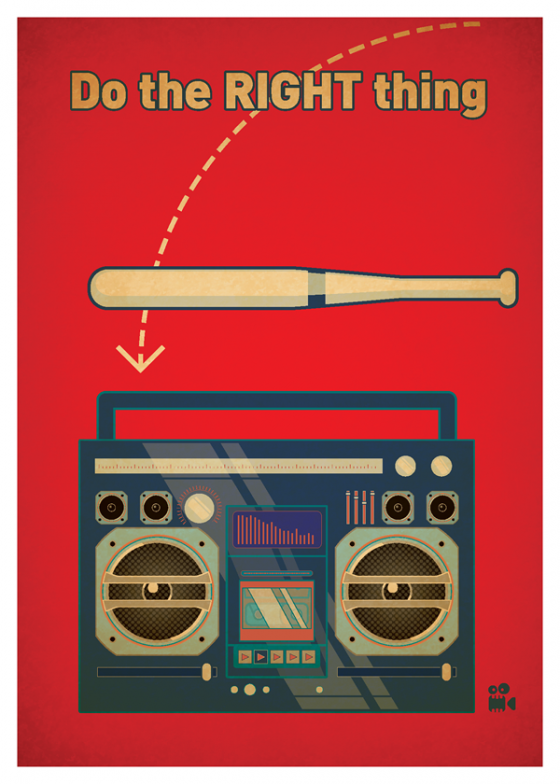 Do The Right Thing Movie Posters Movie Posters Minimalist Inspirational Movies