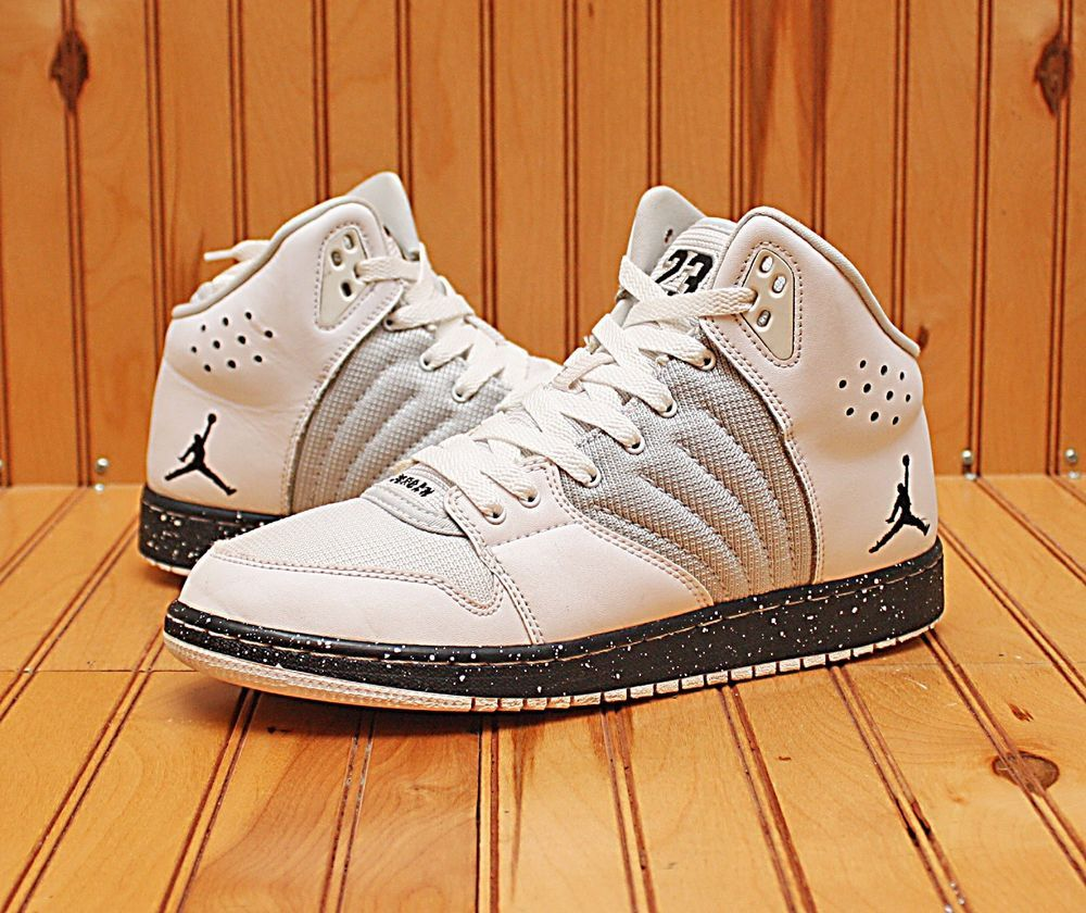 efe67b1a1824 2015 Nike Air Jordan 1 Flight 4 Premium Size 7Y- White Black Oreo - 828237  100