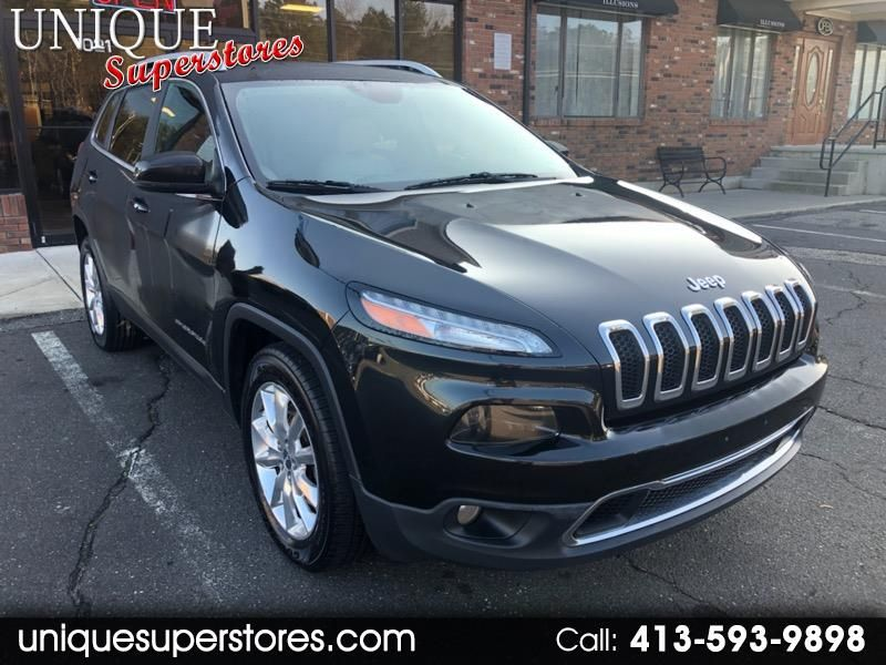 Used 2016 Jeep Cherokee Limited 4wd For Sale In Chicopee Ma 01020