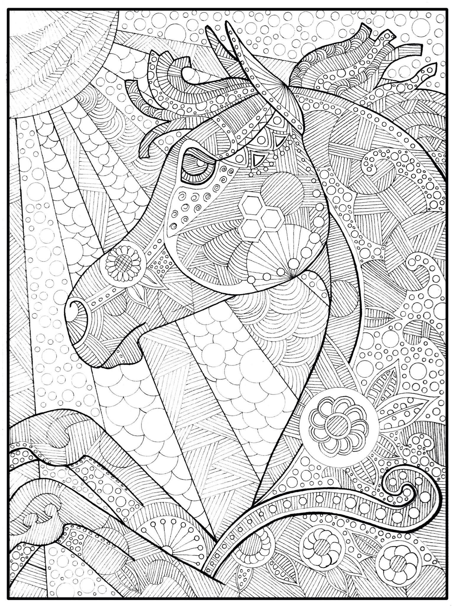 Pin de Linda Jones en Horse drawings | Pinterest | Mandalas ...