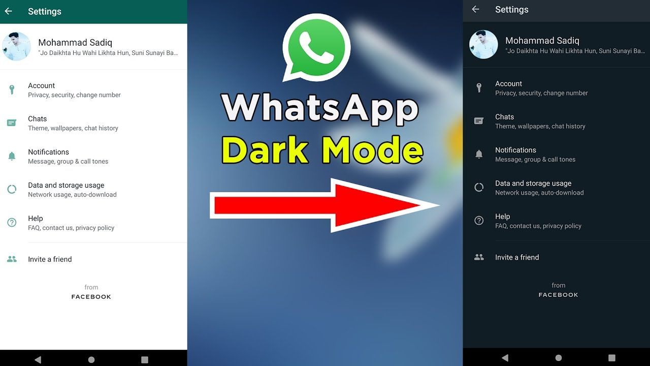 Finally I Got Whatsapp Dark Mode! 😍😍 How To Enable With