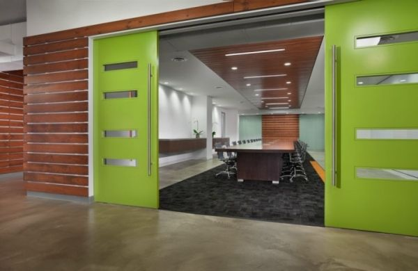 Office Interiors Modern Meeting Rooms Interior Design Conference Room Commercial Chicago Illinois