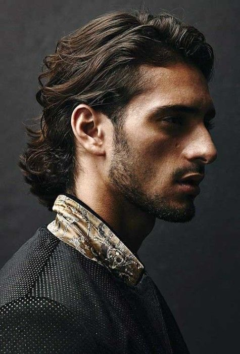 Long-Dark-Hairstyles-for-Men | Character inspiration, Long ...