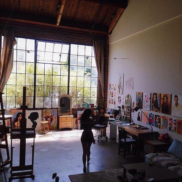 Charmaine Olivia's studio